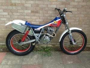 Old Honda Enduro bike