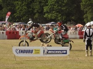 Endurotyres sponsor at event
