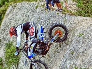 Enduro riding event