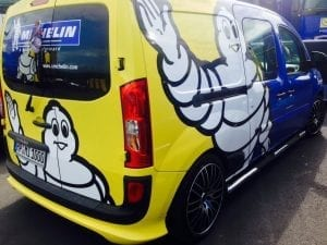 Michelin van