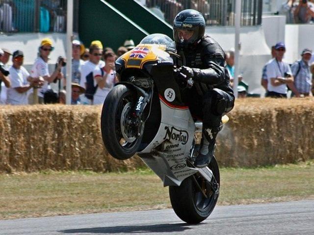 Motorcycle JPS Norton