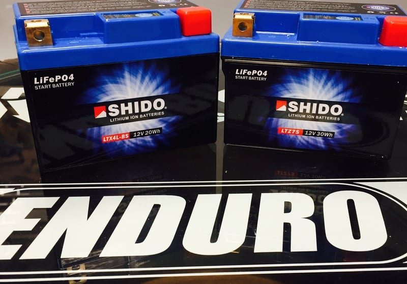 Shido Lithium Ion battery