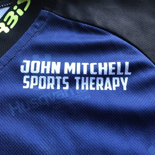 John Mitchell Sports Therapy sponsor of Endurotyres