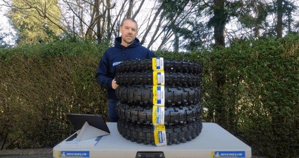 Michelin Enduro Medium Tyres