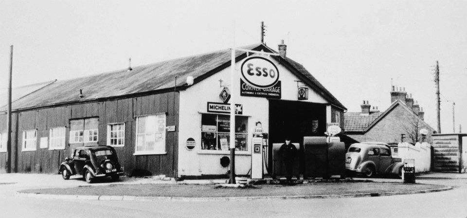 1950s stock car