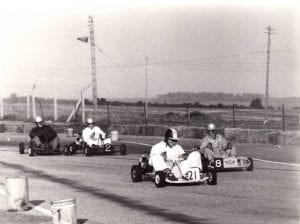 Go karting in the 1960s