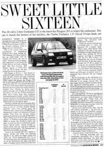 1980s Peugeot In The News