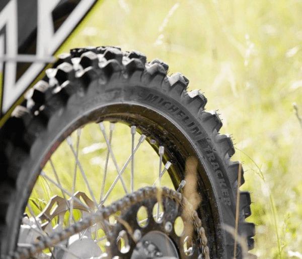 Michelin Tracker closeup