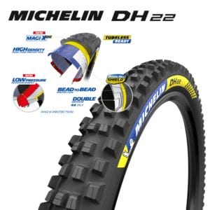 Michelin DH22 tyre