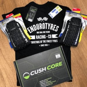 Mountain Bike tyres and CushCore combo deal